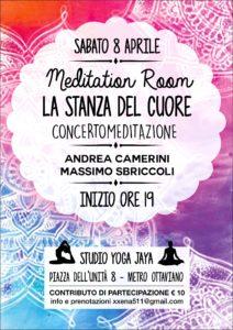 Meditation Room La stanza del Cuore Andrea Camerini Massimo Sbriccoli