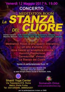 Meditation Room La stanza del Cuore Andrea Camerini Massimo Sbriccoli Shanti Yoga Center Roma