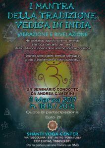 I mantra della tradizione dedica in India - seminario di Andrea Camerini