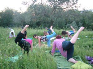 Mantra yoga nel parco con Andrea Camerini