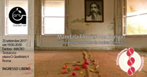 Mandala Flower Meditation - workshop andrea camerini